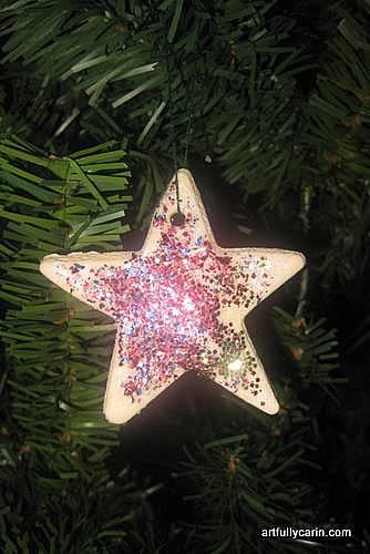 easy slow baked salt dough ornaments