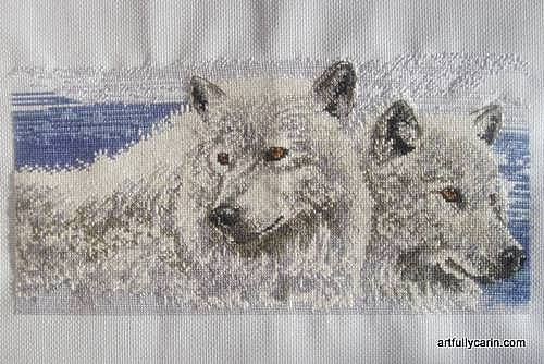 company of wolves cross-stitch