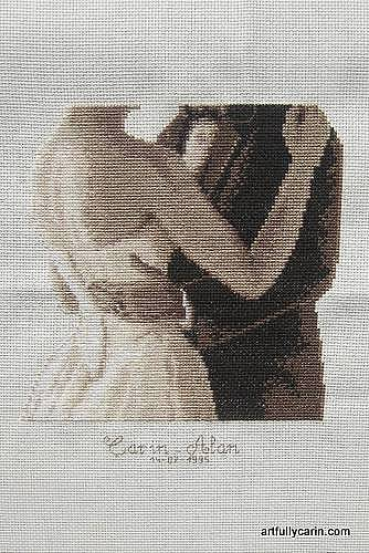 To have and to hold cross-stitch