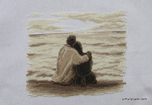 In Love cross-stitch
