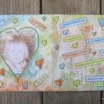 Art, Heart & Healing: week 2, part 1- wishes for little me