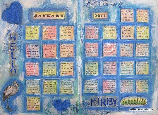 calendar journal january