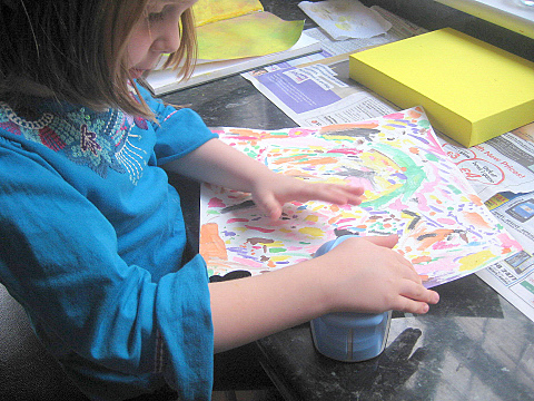 how to make butterfly canvas 3