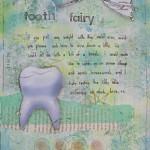 Tooth fairy art journal