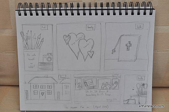 Seasons of life sketch