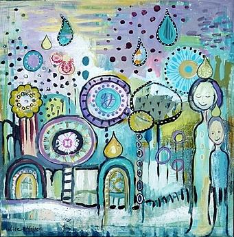 Rain by Lise Meijer