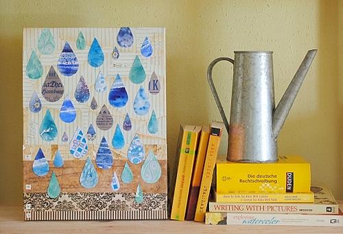 Raindrops by Sadee Schilling
