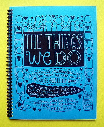 the things we do by Aimee Dolich