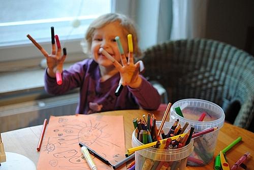 marker cap fingers