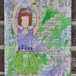 Art for Aoife: dance and be happy!