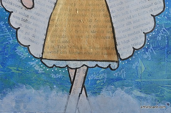 art journal angel