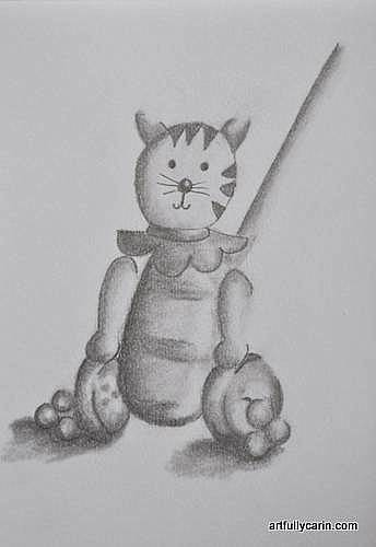 toy cat drawing