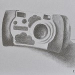 sketching childhood: Aoife's camera
