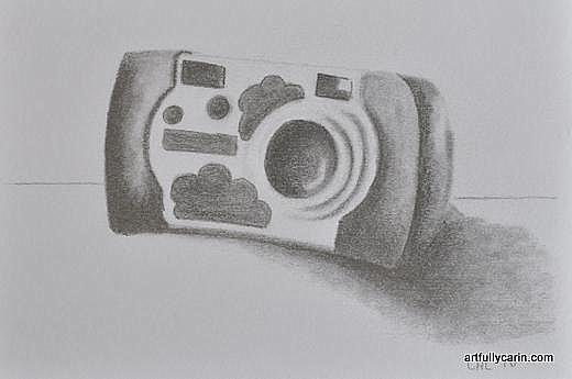 children's camera drawing