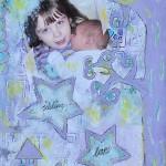 Sibling love art journal