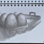 Sketching childhood: hide n squeak eggs