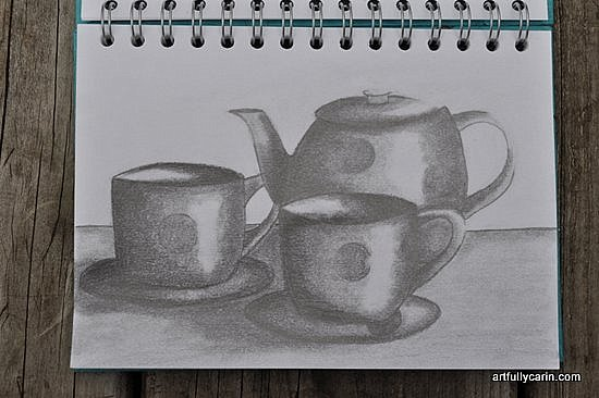 Tea for two by Artfully Carin