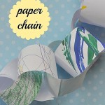 Easy Lent crafts for kids: paper chain