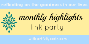 monthly highlights link party