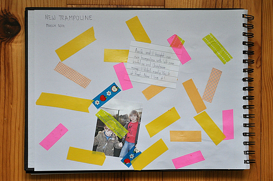7 tips for getting started with kids scrapbooks