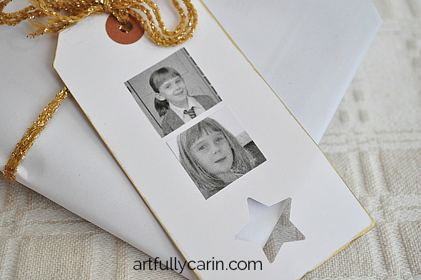 how to make easy personalised gift tags