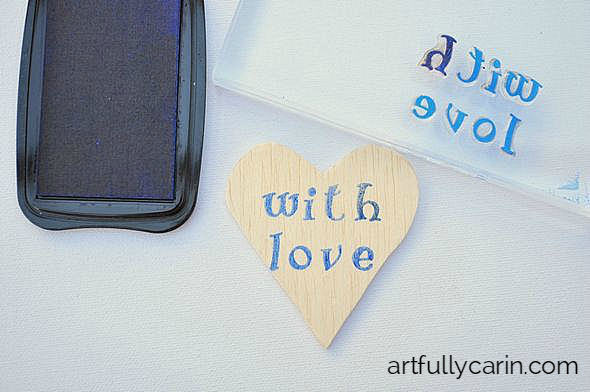 how to make easy wood gift tags