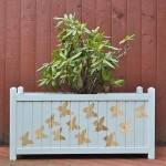 DIY trailing butterfly planter