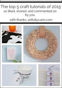 top 5 craft tutorials of 2015