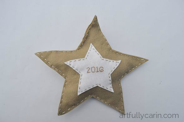 Make a 2016 wishing star