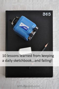 10 lessons learned from keeping a daily sketchbook and failing