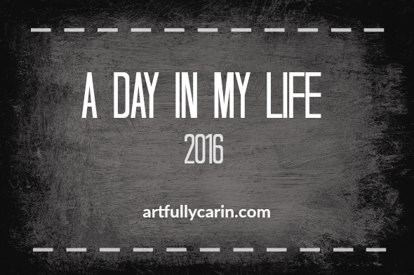 A day in my life 2016- Mum and artist Carin Cullen shares how she fits in art time in her daily schedule.